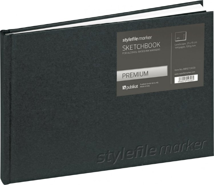Stylefile Marker Sketchbook Premium A5