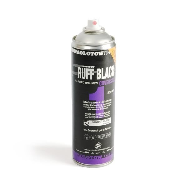 Molotow CoversAll 1 Ruff Black 500ml