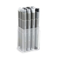 Набір Stylefile Marker Allround 12 Set Neutral Grey
